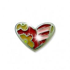 Серьги для ушей Biojoux BJU101 Urban Heart