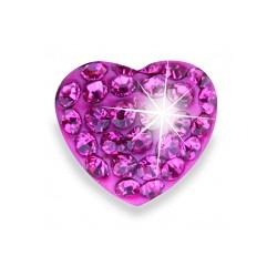 Серьги для ушей Biojoux BJT2100 Trendy Crystal Heart