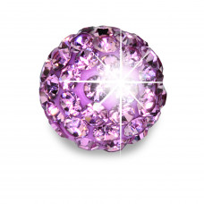 Серьги для ушей Biojoux BJT0084 Trendy Crystal Ball