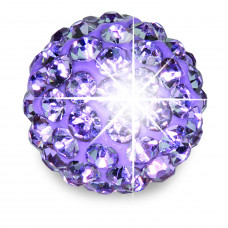 Серьги для ушей Biojoux BJT0106 Trendy Crystal Ball