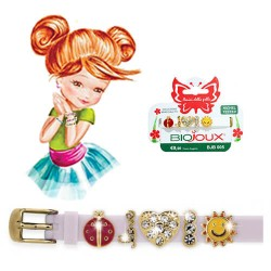 Браслет Biojoux BJB005 Charms Bracelet MIX 5 - White