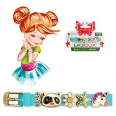 Браслет Biojoux BJB007 Charms Bracelet MIX 7 - Blue  gold