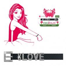 Браслет Biojoux BJB056 Braccialetto INFINITE LOVE - Black