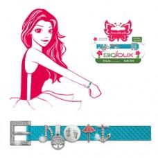 Браслет Biojoux BJB055 Braccialetto FUN TIMES - Aqua