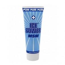 Охлаждающий гель для мышц и кожи Ice Power IP071100 Plus MSM в тубе 100 мл