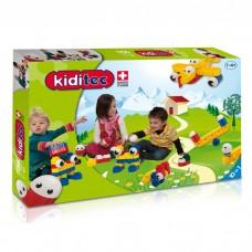 Детский конструктор Kiditec 1156 L-set Happy Moves/Nursery (82 детали)