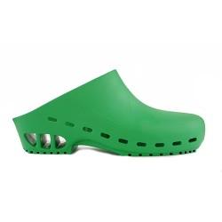 Профессиональные сабо Rosato RS30 Secur Clogs Verde унисекс зеленые
