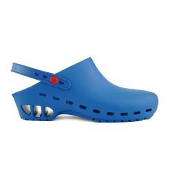 Профессиональные сабо с ремешком Rosato RS40 Secur Strap Clogs Blue унисекс синие