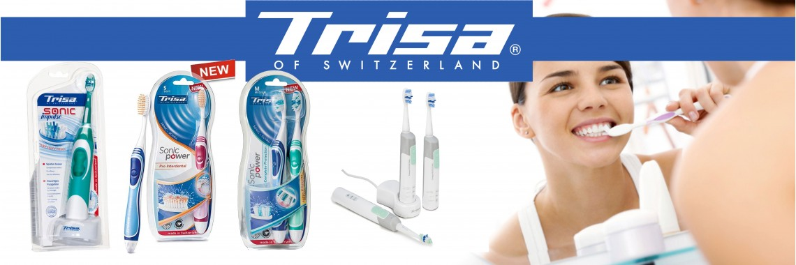 Trisa зубные электрощетки