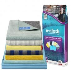 E-Cloth Home Cleaning Set салфетки микрофибра - набор для уборки дома 206199