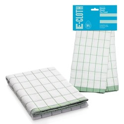 Полотенце кухонное e-cloth Classic Check Green 201682