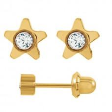 Серьги для прокола ушей Inverness 24 Star