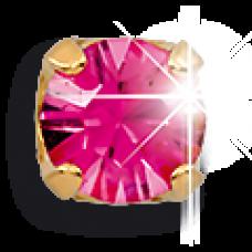 Серьги для прокола ушей EXXL Е128 Ottobre Rosa