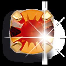 Серьги для прокола ушей EXXL Е129 Novembre Topazio