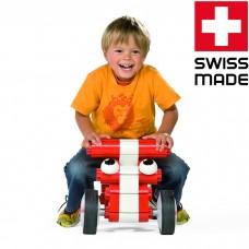 Конструктор Kiditec Multicar 1180 - Машина для детей (красная)