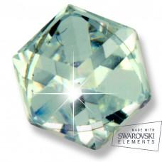 Серьги ТИТАН Biojoux BJ0640 Crystal Cube 4mm SWAROVSKI