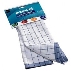 Полотенце кухонное e-cloth Classic Check Blue 201675