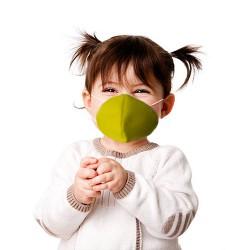 Маска  многоразовая для детей  SA052 Giallo (6-13лет)