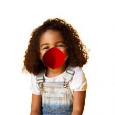 Маска  многоразовая для детей  SA052 Rosso (6-13лет)