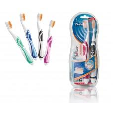 Электрические зубные щетки Trisa Duo SonicPower Akku Pro 4667.0210