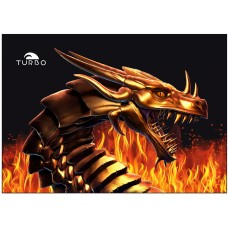 Полотенце микрофибра Turbo Dragon Fire - 9890534